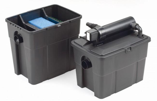 Teichfilter multiclear set 5000 mehrkammerfilter set pontec for Pompe x laghetti