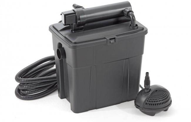 Sistema filtrante per laghetto multiclear set 8000 set for Pompa e filtro per laghetto