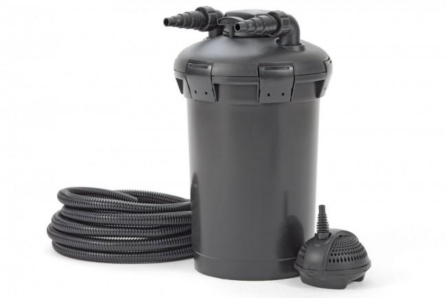 Pond filter pondopress 15000 pressure filter set pontec for Koi filter set