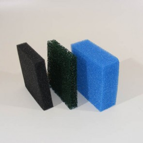 Replacement sponges for MKF multi-chamber filter