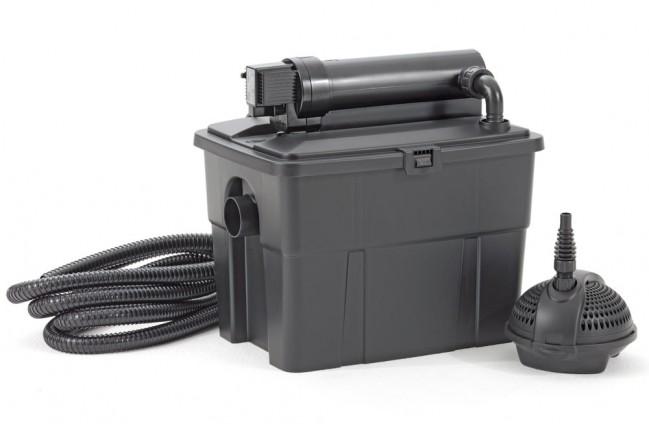 filtre multichambre pour bassin en kit multiclear set 5000 pontec. Black Bedroom Furniture Sets. Home Design Ideas
