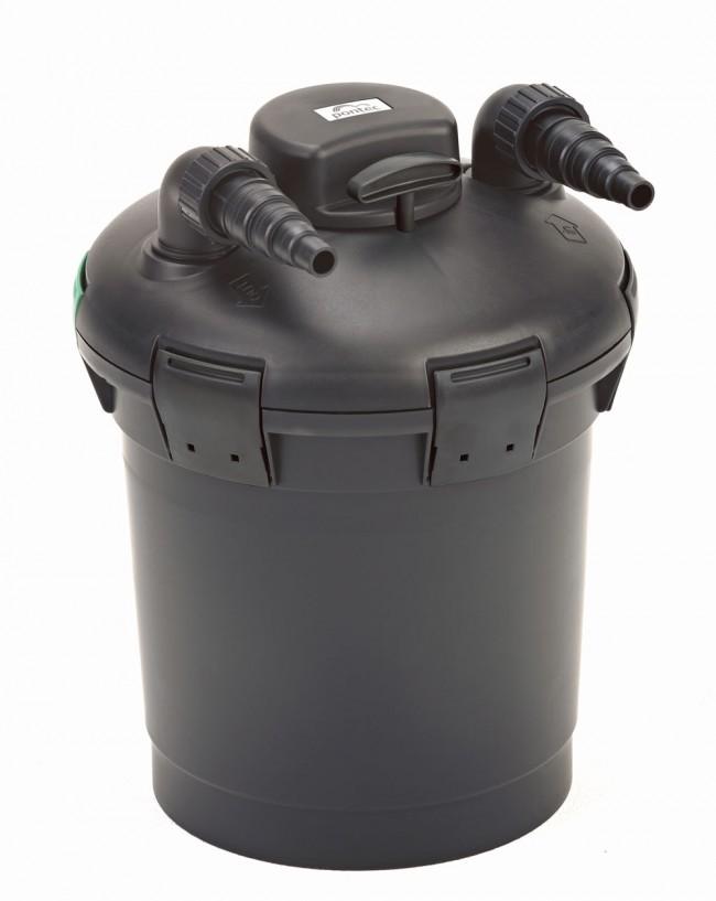 Filtre sous pression pour bassin pondopress set 10000 pontec for Pompe x laghetti